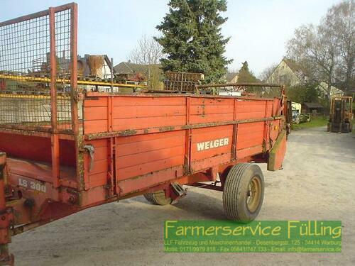 Welger Ls 300, 6.5to, Holzboden Schlecht, Rahmen Rost Warburg / Daseburg