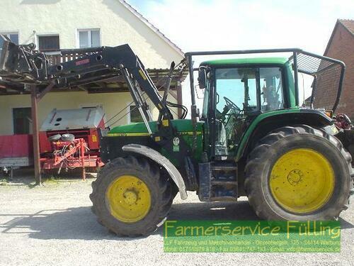 John Deere 6610, 2x Funk, Fl, Unterfahrschutz Årsmodell 2000 Warburg / Daseburg