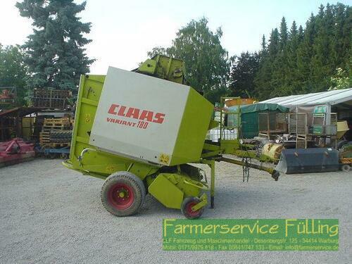 Ballenpresse Claas - Variant180 mit Rotor Cut