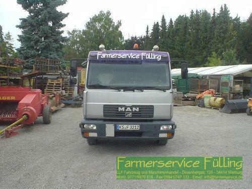 MAN 12.220 Sattelzugmaschine, Abgelastet Auf 7,5t Rok výroby 2001 Warburg / Daseburg