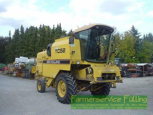 New Holland Tc52, Bj. 94, 3194 Std., 3m Sw, Häcksler Year of Build 1994 Warburg / Daseburg