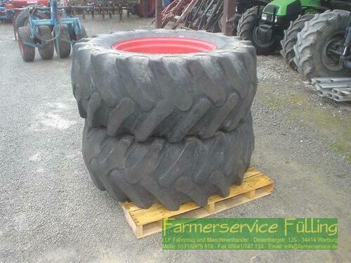 Fendt 2x Forstfelge m. Alliance Reifen für Fendt 714 SCR