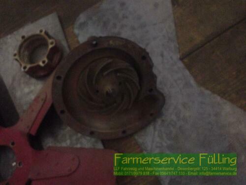 Case IH Wasserpumpe und Lüfterrad für 6-Zylinder-Motor IHC 431