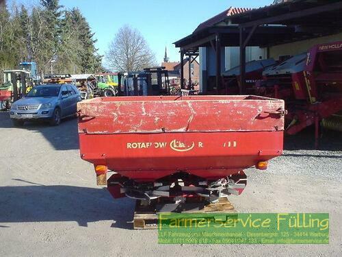 Kverneland Rotaflow RS-M,Grenzstreueinr., AB 12-21 m, Holzaufsatz