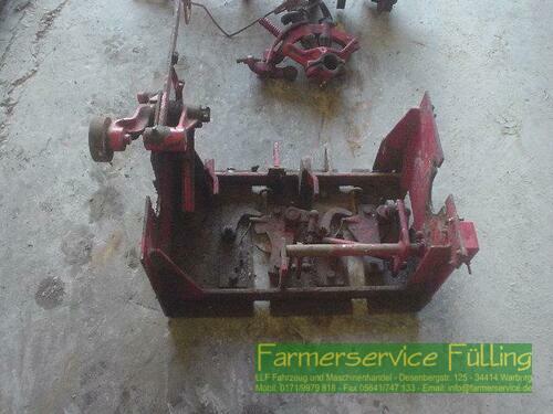 Welger AP 41 Binderplatte mit Schaltgestänge