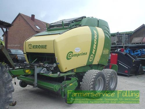 Krone Comprima V210 XC, BJ 2013, Vollausstattung
