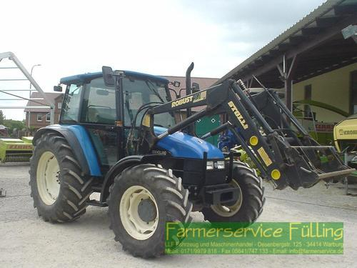 New Holland 7635, BJ 97, 40 km/h, FL, Lack schlecht