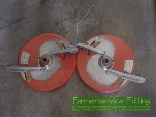 Amazone 1 Paar Streuscheiben Für Zam, 10-18m Warburg / Daseburg