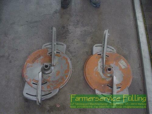 Amazone 1 Paar Streuscheiben Zam, 30-36m Warburg / Daseburg