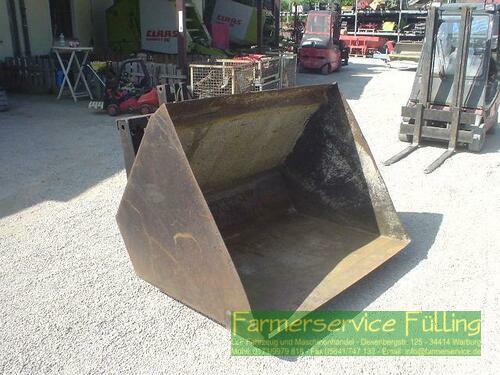 Staplerschaufel Aufnahme 40 und 50 cm, 1 Zylinder ölt