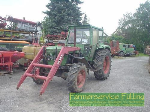 Deutz-Fahr 100 06, Allrad, Fl, Schlechter Zustand Front Loader Year of Build 1976