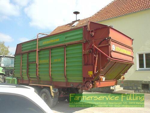 Strautmann Vitesse 260 DO, Holzboden schlecht, Reifen schlecht, tw. Ros