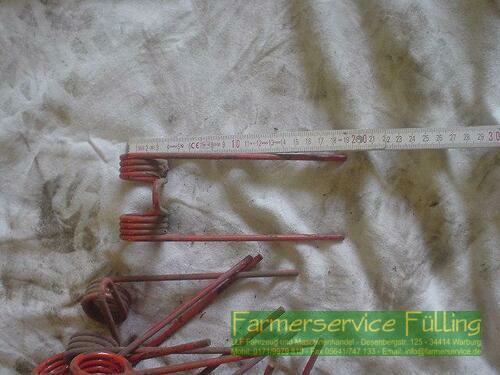 Pickup-Zinken, ca. 19 cm lang, 9 Stück