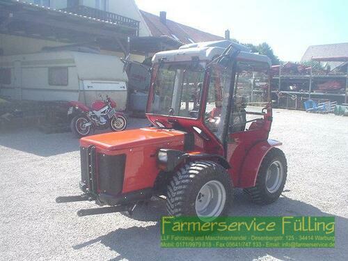 Carraro TTR 4400 HST, BJ 2005, 1980 BST, Drehsitz, neu lackiert, FH,