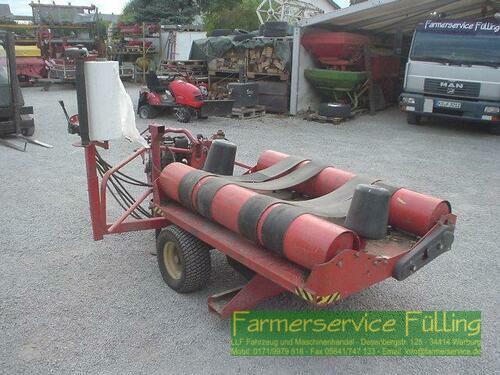 Kverneland Silawrap 7550 mit Stationärmotor Hatz Diesel, 50er Folie