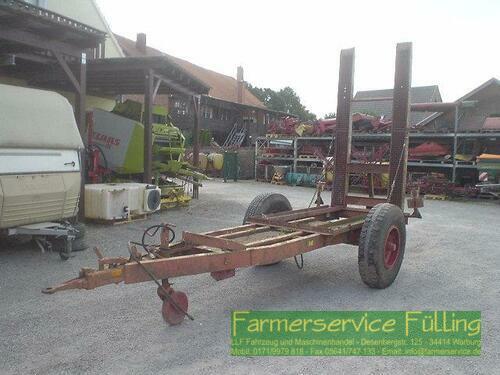 Transportanhänger für Stapler mit hydr. Rampe, Auffahrbrei