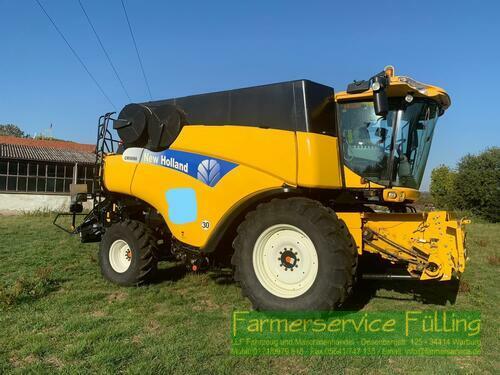 New Holland CR 9090, BJ 2009/Mod.Jahr 2010, 10,70m Schneidwerk