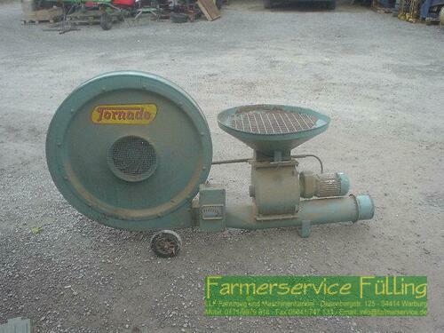 Tornado Körnergebläse 7,5 kW/10 PS, mit Schleuse/Zwangseinzug und