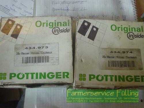 Pöttinger Rotorklingen Links (7x) Und Rechts (9x), Preis Für Alle