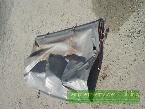 Kverneland Abdeckplane mit Gestell für DA, DL etc., leicht beschädigt