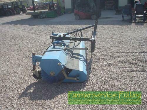 Saphir Kehrmaschine 231, Stützrad, Sammelbehälter