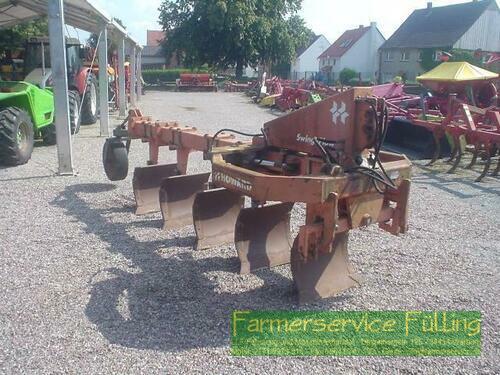 Howard 5Schar-Schwingpflug SP5 mit Stützrad