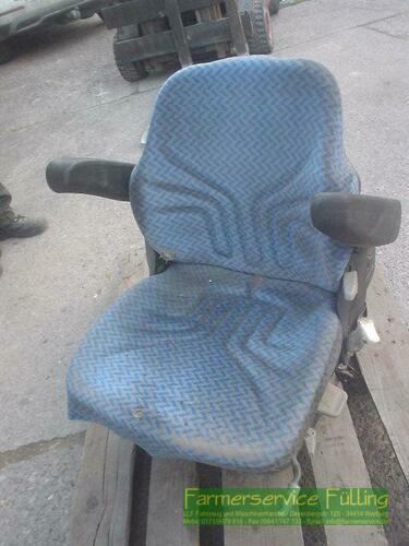 Grammer Sitz Msg95g/721 12v, Polster Noch Fast Heile Warburg / Daseburg