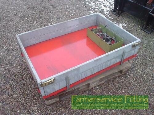 Carraro 4400 Pritsche mit Befestigungsmaterial