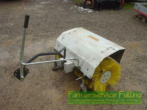Caravaggi Spazzo Kehrmaschine zum Anbau an Einachser, Lagermaschine un