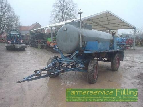 Diesel-Tankanhänger Mit Pumpe, Bj 1985 Årsmodell 1985 Warburg / Daseburg