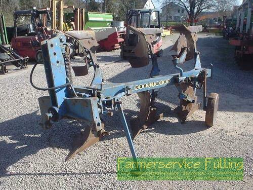 Plough Rabe - 3-Schar-Pflug, hydr. Drehung, Stützrad