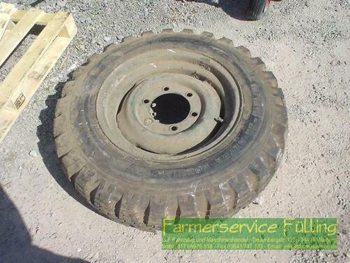 Dunlop Einzelnes Rad passend für Unimog, 10.5-20, 9x20