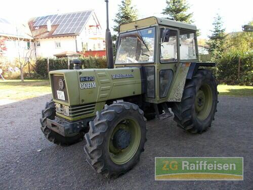 Hürlimann Allradschlepper Hc 4 Año de fabricación 1981 Accionamiento 4 ruedas