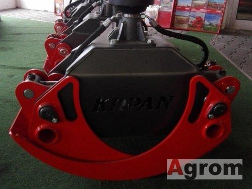 Krpan Greifer GR 150 mit endlos Rotator Rückezange