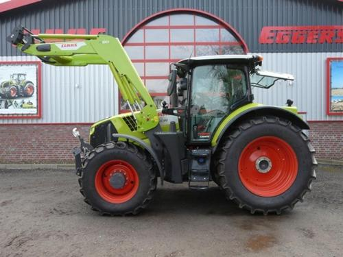 Claas Arion 660 Cmatic Cebis Année de construction 2018 Suhlendorf
