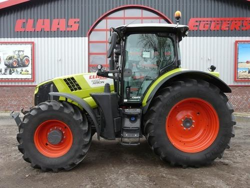 Claas Arion 660 Cmatic Cebis Byggeår 2018 A/C