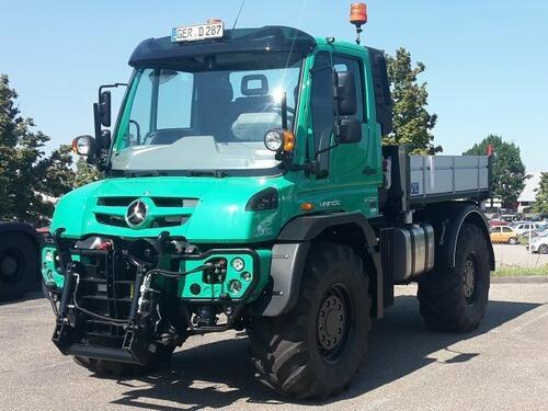 Mercedes-Benz Mercedes-Benz Unimog U 529 4x4 3350 Bouwjaar 2016 Rendsburg