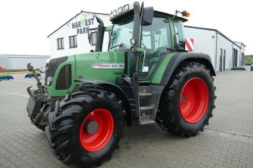 Fendt 412 Vario TMS Año de fabricación 2010 Accionamiento 4 ruedas