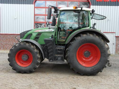 Fendt 720 Vario S4 Profi Year of Build 2015 Dannenberg-Schaafhausen