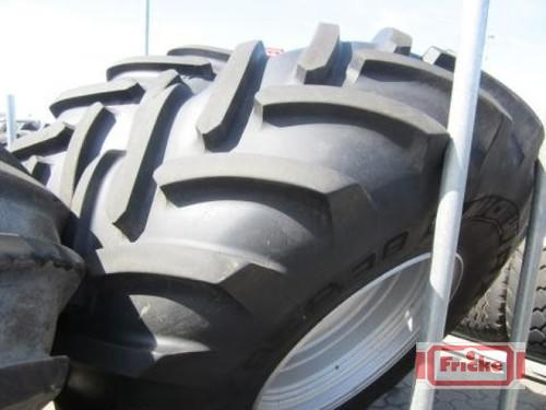 Michelin 2 Räder 710/85 R38 Axiobib Year of Build 2012 Gyhum-Bockel