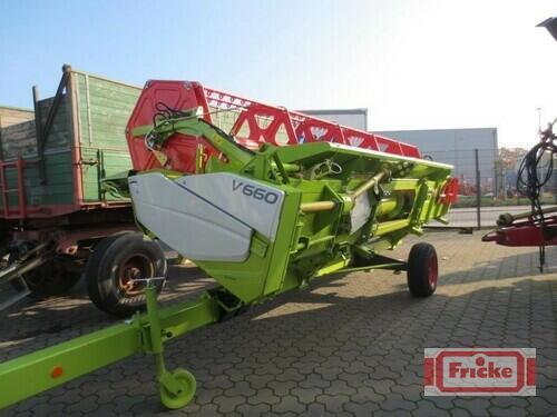 Claas Vario 660 Rok produkcji 2014 Gyhum-Bockel