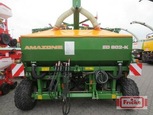 Amazone Ed 602-K Anul fabricaţiei 2014 Gyhum-Bockel