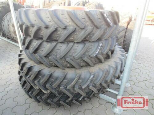 Michelin 320/90r50 Und 320/85r36 Zum Fendt 712/714/716/718 Gyhum-Bockel
