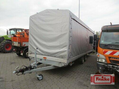 Böckmann 3,5 To Alu Pkw Anhänger Baujahr 2012 Gyhum-Bockel