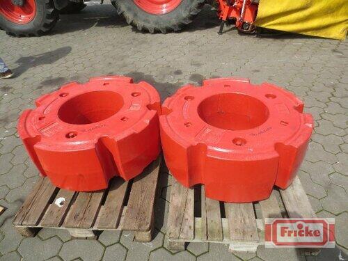 Fendt 2 X 1000kg Radgewichte Gyhum-Bockel
