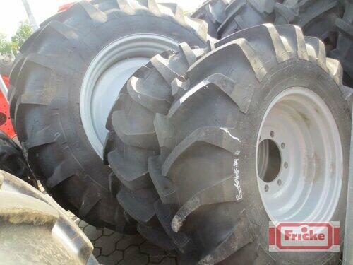 Michelin 2x 380/85r24 Und 2x 420/85r38 Gyhum-Bockel