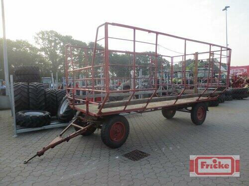 Ballenwagen mit Gitteraufbau