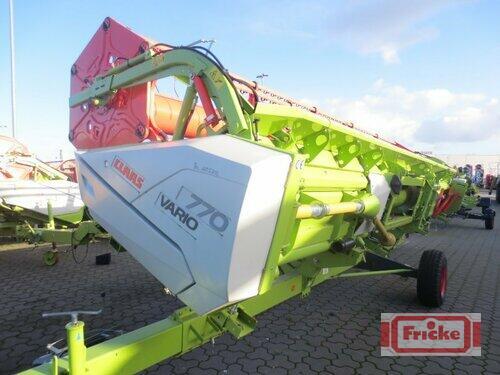 Claas Vario 770 Anul fabricaţiei 2015 Gyhum-Bockel
