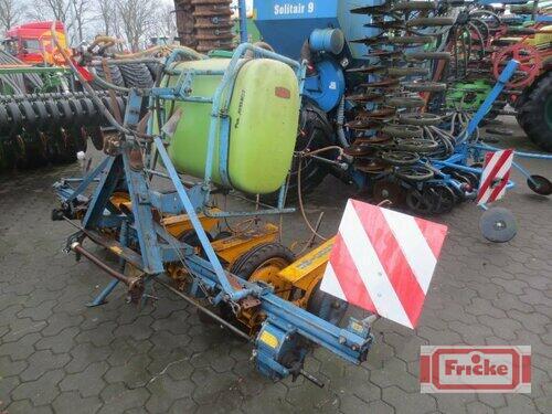 Kleine UNICORN Rübendrillmaschine 4-reihig