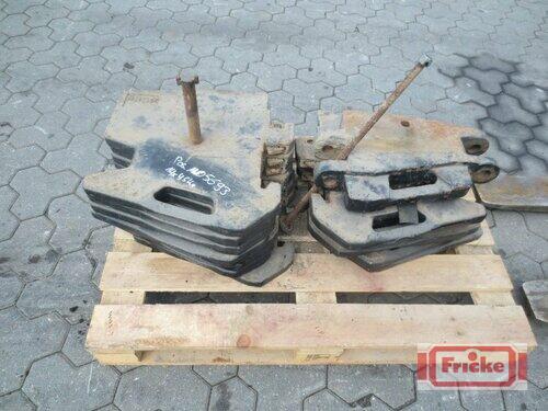 Massey Ferguson 14x 45kg Frontgewichte Gyhum-Bockel